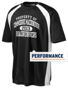 Commodore MacDonough Elementary School Roadrunners Men's Dry Zone Colorblock T-Shirt