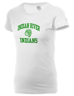 Indian River High School Indians  Russell Women's Campus T-Shirt