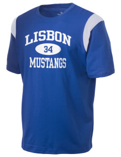 Lisbon Elementary School Mustangs Holloway Men's Rush T-Shirt