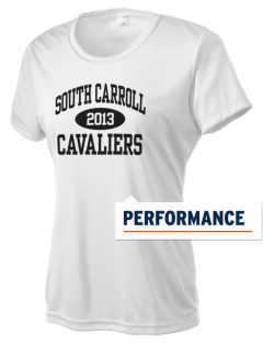 South Carroll High School Cavaliers Women's Competitor Performance T-Shirt