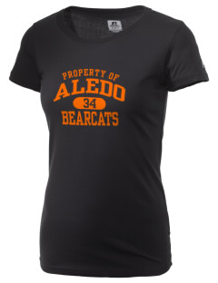 Aledo High School Bearcats  Russell Women's Campus T-Shirt