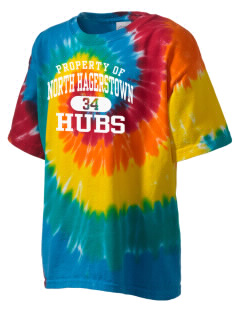 North Hagerstown High School Hubs Kid's Tie-Dye T-Shirt
