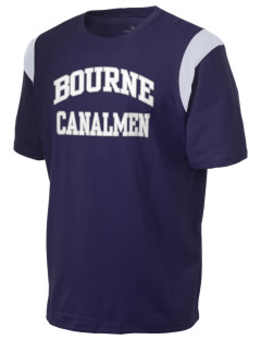Bourne High School Canalmen Holloway Men's Rush T-Shirt