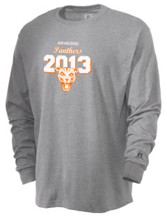 Avon Middle High School Panthers  Russell Men's Long Sleeve T-Shirt