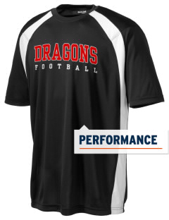 Gaines Elementary School Dragons Men's Dry Zone Colorblock T-Shirt
