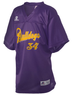 Southwest Community Campus Bulldogs Russell Kid's Replica Football Jersey