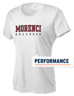 Morenci High School Bulldogs Women's Competitor Performance T-Shirt