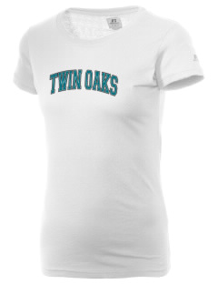 Twin Oaks High School Tiger  Russell Women's Campus T-Shirt
