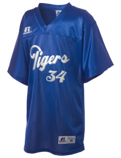 Twin Oaks High School Tiger Russell Kid's Replica Football Jersey