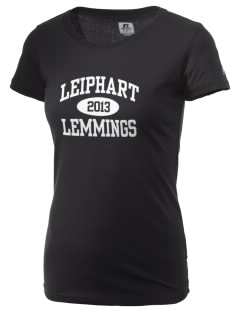 Leiphart Alternative High School Lemmings  Russell Women's Campus T-Shirt