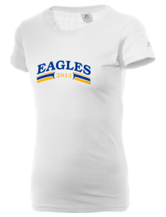 First Baptist Christian School Eagles  Russell Women's Campus T-Shirt