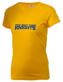 Harvest Christian Academy Knights  Russell Women's Campus T-Shirt