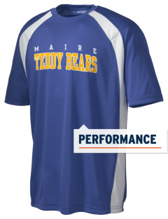 Maire Elementary School Teddy Bears Men's Dry Zone Colorblock T-Shirt
