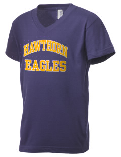 Hawthorn Eagles Kid's V-Neck Jersey T-Shirt