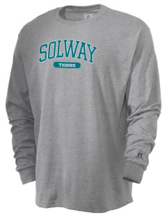 Solway Elementary School Tigers  Russell Men's Long Sleeve T-Shirt