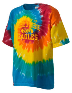 Monessori School Of Jonesboro Eagles Kid's Tie-Dye T-Shirt