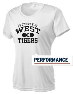 West Elementary School Tigers Women's Competitor Performance T-Shirt