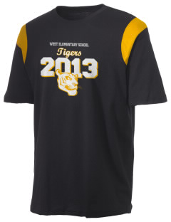West Elementary School Tigers Holloway Men's Rush T-Shirt