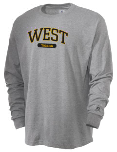 West Elementary School Tigers  Russell Men's Long Sleeve T-Shirt