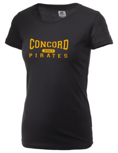 Concord Elementary School Pirates  Russell Women's Campus T-Shirt
