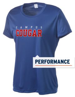 campus community school cougar Women's Competitor Performance T-Shirt