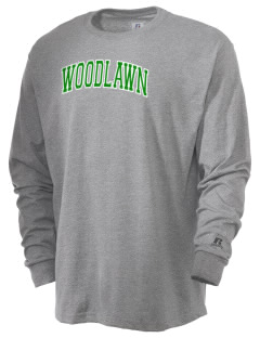Woodlawn Middle School Warriors  Russell Men's Long Sleeve T-Shirt