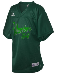 Woodlawn Middle School Warriors Russell Kid's Replica Football Jersey