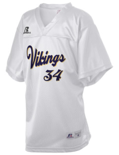 Martha Vinyard Elementary School Vikings Russell Kid's Replica Football Jersey