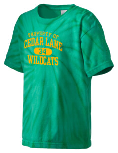Cedar Lane Elementary School Wildcats Kid's Tie-Dye T-Shirt