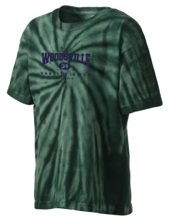 Woodsville Elementary School Owls Kid's Tie-Dye T-Shirt