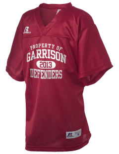 Garrison Elementary School Defenders Russell Kid's Replica Football Jersey