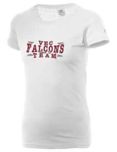Ventnor Educational Community Complex Falcons  Russell Women's Campus T-Shirt
