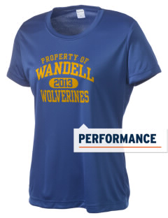 Wandell Elementary School Wallabees Women's Competitor Performance T-Shirt