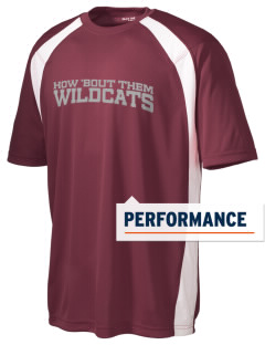 Washington Elementary School Wildcats Men's Dry Zone Colorblock T-Shirt