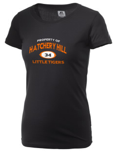 Hatchery Hill Elementary School Little Tigers  Russell Women's Campus T-Shirt