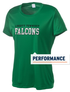 Liberty Township Elementary School Falcons Women's Competitor Performance T-Shirt