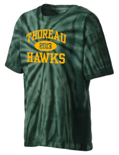 Thoreau High School Hawks Kid's Tie-Dye T-Shirt