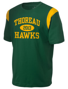 Thoreau High School Hawks Holloway Men's Rush T-Shirt
