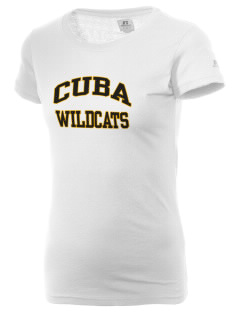 Cuba Middle School Wildcats  Russell Women's Campus T-Shirt