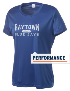 Raytown High School Blue Jays Women's Competitor Performance T-Shirt