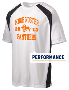Knob Noster High School Panthers Men's Dry Zone Colorblock T-Shirt