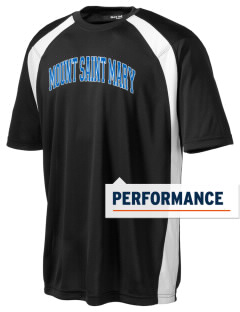 Mount Saint Mary College Knights Men's Dry Zone Colorblock T-Shirt