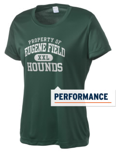 Eugene Field Elementary School Hounds Women's Competitor Performance T-Shirt