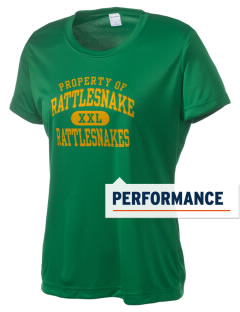 Rattlesnake Middle School Rattlesnakes Women's Competitor Performance T-Shirt