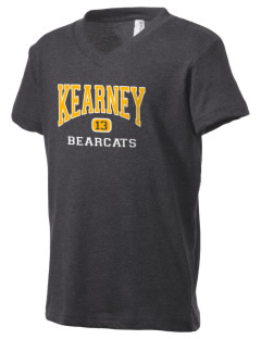 Kearney High School Bearcats Kid's V-Neck Jersey T-Shirt