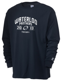 Waterloo School Panthers  Russell Men's Long Sleeve T-Shirt