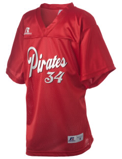Plainview Elementary School Pirates Russell Kid's Replica Football Jersey