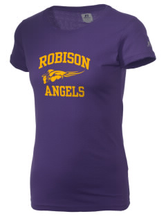 Robison Middle School Angels  Russell Women's Campus T-Shirt