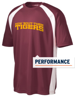 R E Tobler Elementary School Tigers Men's Dry Zone Colorblock T-Shirt