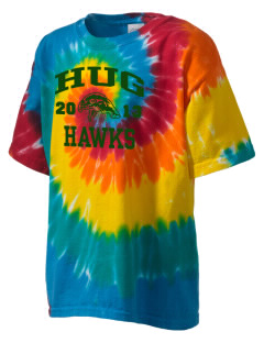 Hug High School Hawks Kid's Tie-Dye T-Shirt